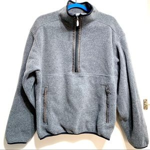 The North Face Gray Fleece Sweater. Large.